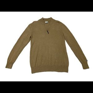 Columbia Men's Wool Blend 1/2 Zip Mock Sweater